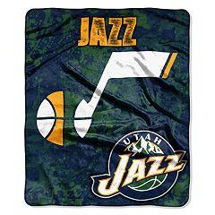 Utah Jazz Dropdown Raschel Throw by Northwest