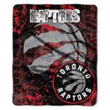 Toronto Raptors Dropdown Raschel Throw by Northwest