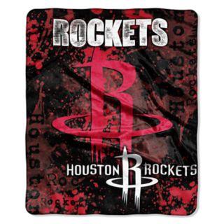 Houston Rockets Dropdown Raschel Throw by Northwest
