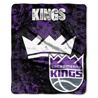 Sacramento Kings Dropdown Raschel Throw by Northwest