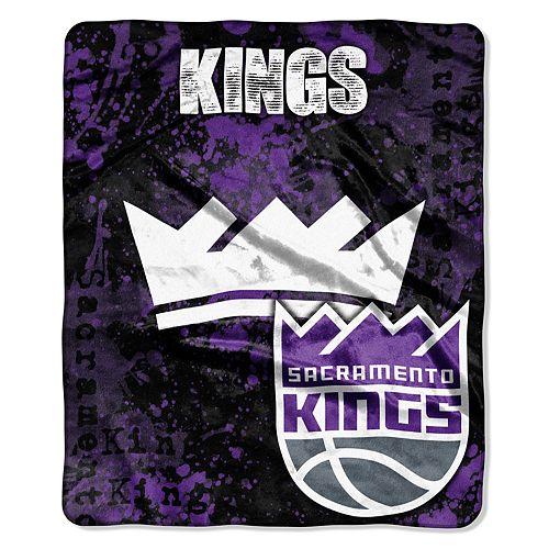 Sacramento Kings Dropdown Raschel Throw by Northwest