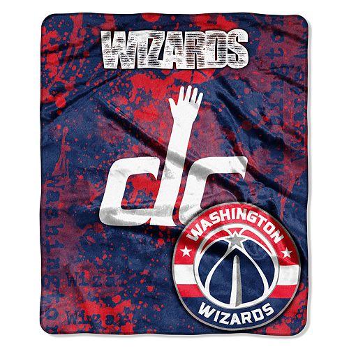 Washington Wizards Dropdown Raschel Throw by Northwest