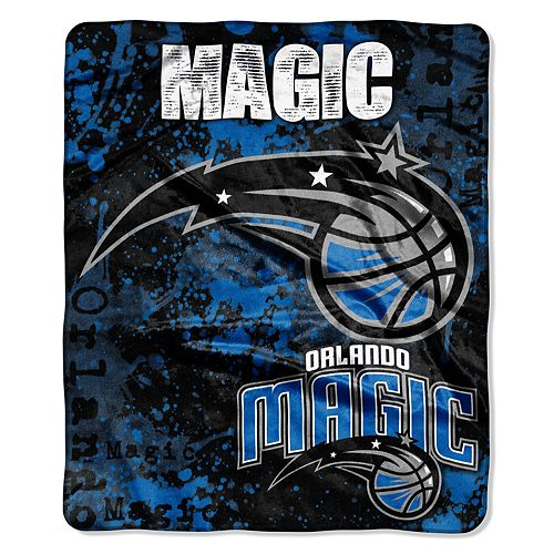 Orlando Magic Dropdown Raschel Throw by Northwest