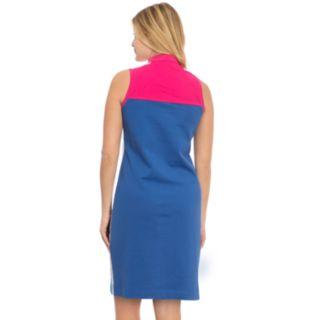 Women's IZOD Colorblock Polo Dress