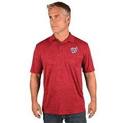 Men's Majestic Washington Nationals Hit First Polo