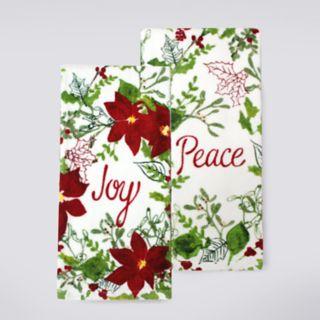 St. Nicholas Square® Joy Kitchen Towel 2-pack