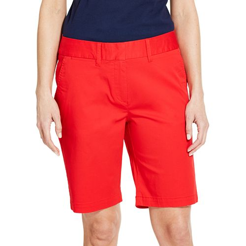 Women's IZOD Midrise Bermuda Shorts