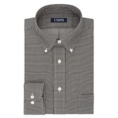 Men's Chaps Regular Fit Comfort Stretch Button-Down Collar Dress Shirt