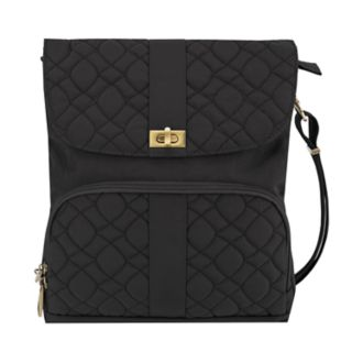 Travelon Anti-Theft Signature Quilted Messenger Bag