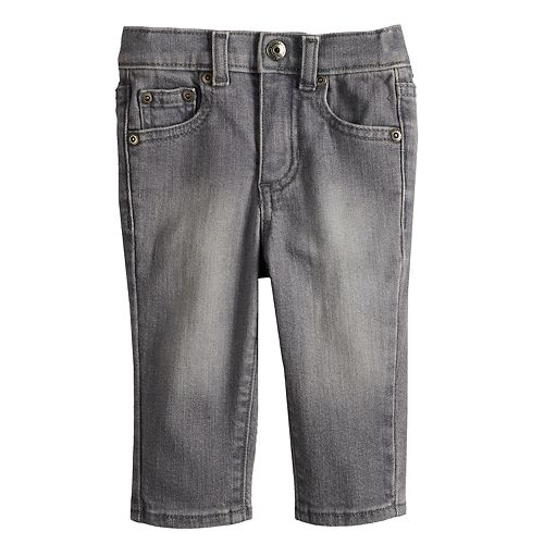 Baby Boy Jumping Beans® Skinny Gray Jeans