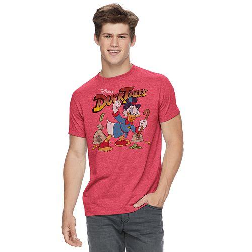e4e47921 Men's Disney Duck Tales Scrooge McDuck Tee
