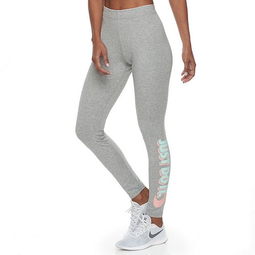 "Women's Nike Sportswear ""Just Do It"" Graphic Leggings"
