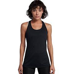 56609953243d6 Women s Nike Dry Training Mesh Racerback Tank. Black