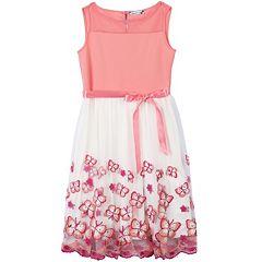 Girls 7-16 & Plus Size Speechless Butterfly Hem Dress