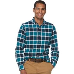 Men's SONOMA Goods for Life™ Flexwear Slim-Fit Oxford Button-Down Shirt