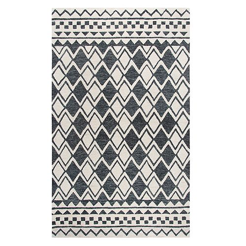 Rizzy Home Idyllic Transitional Geometric Rug
