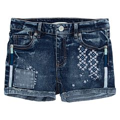 Girls 7-16 Levi's Embroidery Embellished Shorty Shorts