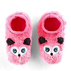 Girls 4-16 Fuzzy Fox Slipper Socks