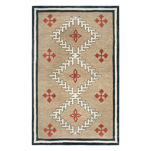 Rizzy Home Mesa Southwest Tribal III Geometric Rug