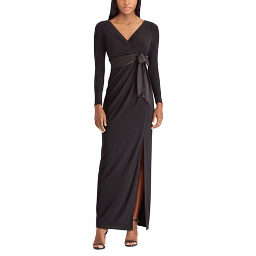 Women's Chaps Surplice Evening Gown