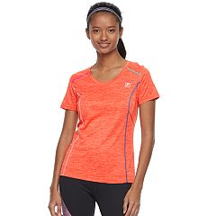 Women's FILA SPORT® Space-Dyed Short Sleeve Tee