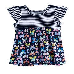 Jumping Beans® Baby Girl Flutter Sleeve Peplum