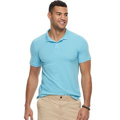 Men's SONOMA Goods for Life™ Flexwear Classic-Fit Stretch Pique Polo