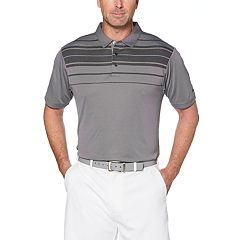 Men's Grand Slam GS TOUCH™ Regular-Fit Chest-Striped Performance Golf Polo