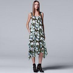 Women's Simply Vera Vera Wang Print Handkerchief Tank Dress