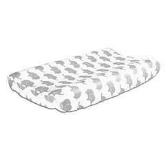 The Peanut Shell Elephant Changing Pad Cover