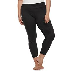 Plus Size SO® Velour Leggings