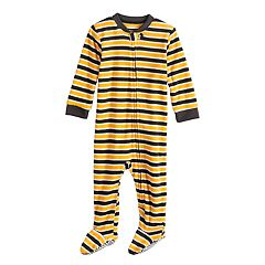 Baby/Infant Jammies For Your Families Halloween Microfleece Striped Blanket Sleeper One-Piece Pajamas