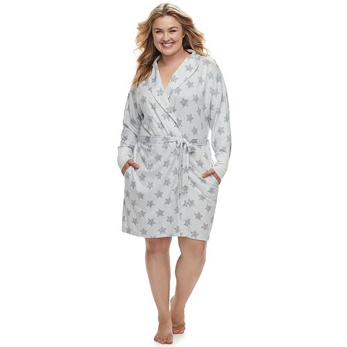 Plus Size SONOMA Goods for Life™ Whisperluxe Robe