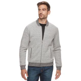 Men's Marc Anthony Slim-Fit Foldover Collar Knit Bomber Jacket