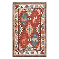 Rizzy Home Northwoods Lodge Patchwork II Geometric Rug