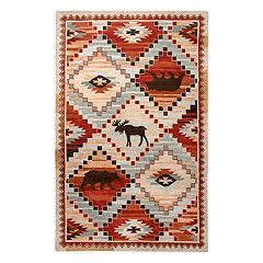 Rizzy Home Northwoods Lodge Patchwork III Geometric Rug