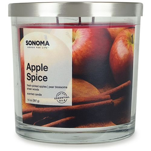 SONOMA Goods for Life™ Apple Spice 14-oz. Candle Jar