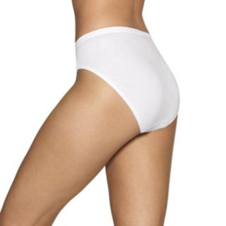 Women's Hanes Cotton Comfort Ultra Soft 12-Pack High-Cut Panties  43KP12