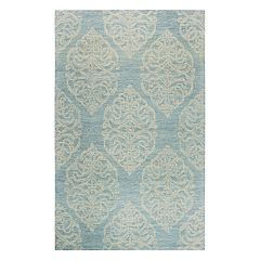 Rizzy Home Opulent Transitional Medallion II Geometric Rug