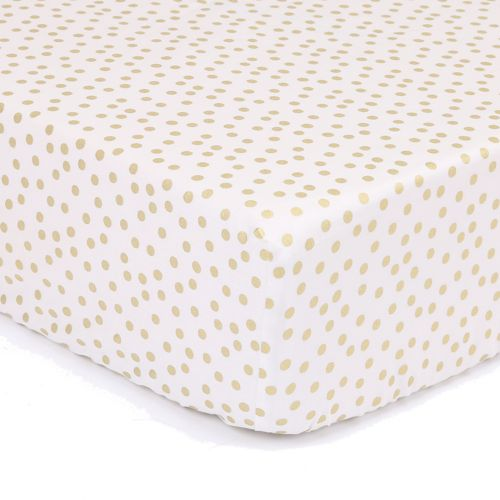The Peanut Shell All That Glitters Confetti Fitted Crib Sheet by Kohl's