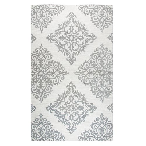Rizzy Home Opulent Transitional Medallion III Geometric Rug