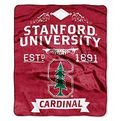 Stanford Cardinal Label Raschel Throw by Northwest