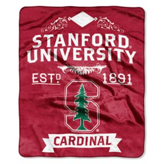 Stanford Cardinal Label Raschel Throw by Northwest