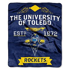 Toledo Rockets Label Raschel Throw by Northwest