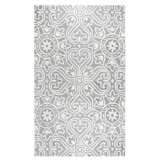 Rizzy Home Opulent Transitional Medallion IV Geometric Rug
