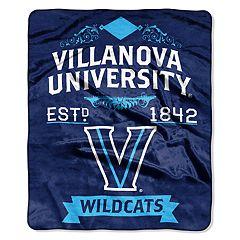 Villanova Wildcats Label Raschel Throw by Northwest
