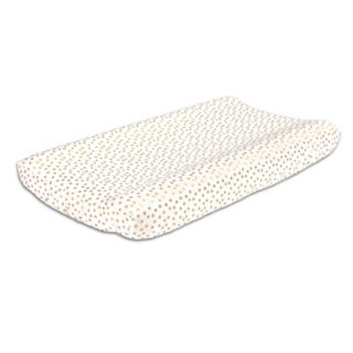 The Peanut Shell All That Glitters Confetti Changing Pad Cover