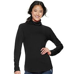 Juniors' SO® Long Sleeve Turtleneck Top