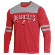 Men's Champion Cincinnati Bearcats Colorblock Tee