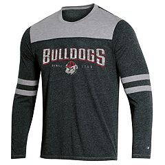 Men's Champion Georgia Bulldogs Colorblock Tee